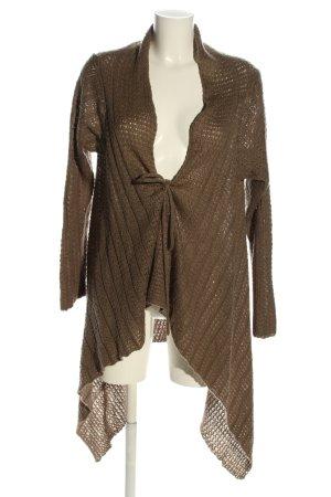 okay Crochet Cardigan brown casual look