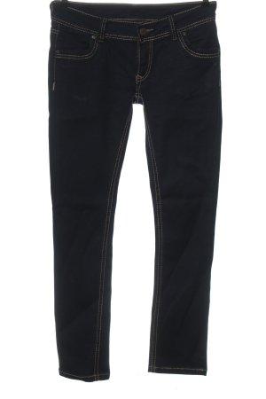 okay Jeans taille basse bleu style décontracté