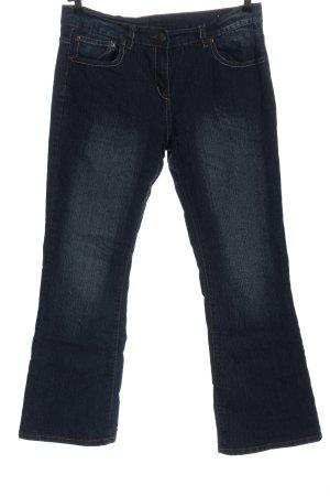 okay Jeans flare bleu style décontracté