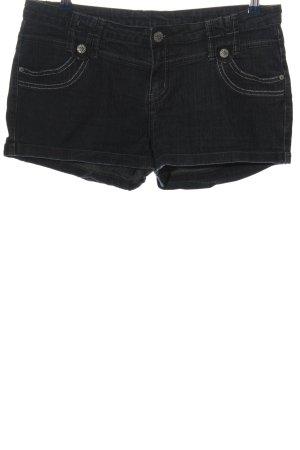 okay Denim Shorts black casual look