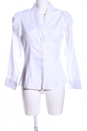 okay Long Sleeve Blouse white casual look