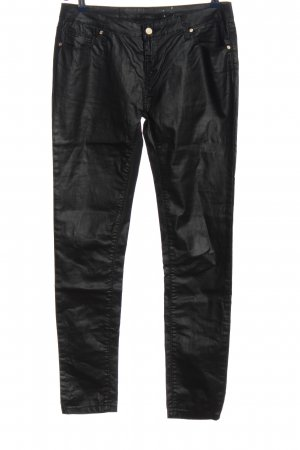 okay Pantalon cigarette noir style décontracté
