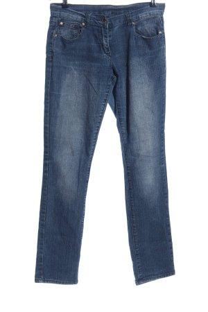 okay Jeans cigarette bleu style décontracté