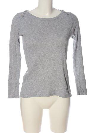 okay Slip-over Blouse light grey flecked casual look