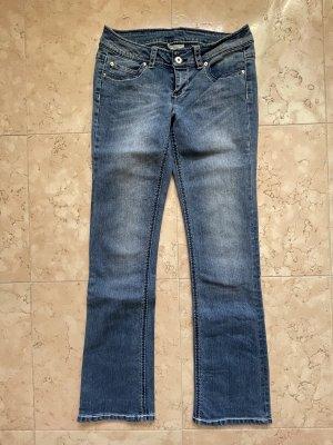 okay Jeans coupe-droite bleu foncé