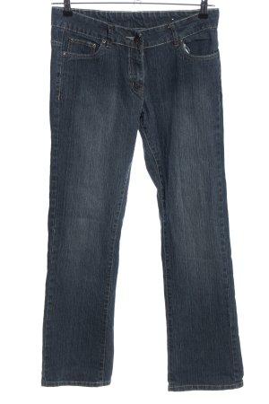 okay Straight-Leg Jeans blau Casual-Look