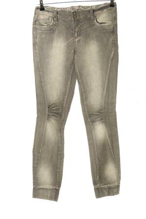 okay Jeans stretch gris clair style décontracté