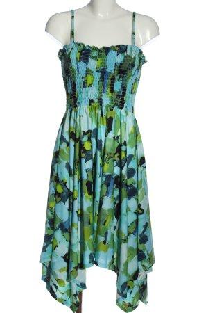 okay Trägerkleid abstraktes Muster Elegant