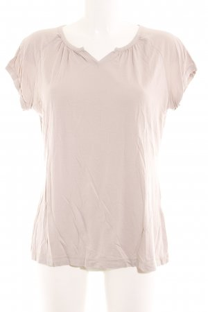 Okha T-Shirt altrosa schlichter Stil