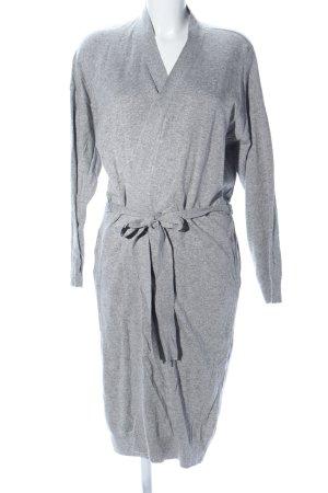 Okha Giacca aderente grigio chiaro puntinato stile casual