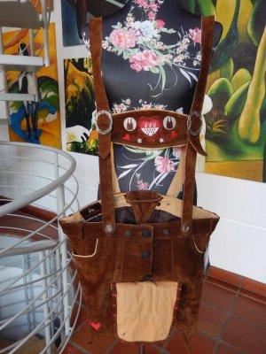 Pantalón de cuero tradicional multicolor Cuero