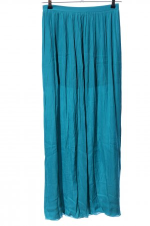 Oky-Coky Maxi rok blauw casual uitstraling