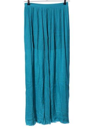Oky-Coky Jupe longue bleu style décontracté