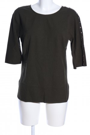 Oky-Coky Schlupf-Bluse khaki Casual-Look