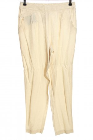 Oky-Coky Stoffhose creme Casual-Look