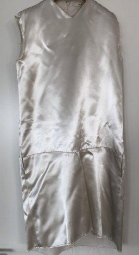 Old Céline:  Phoebe Philo Minikleid creme Kurzarm FR40
