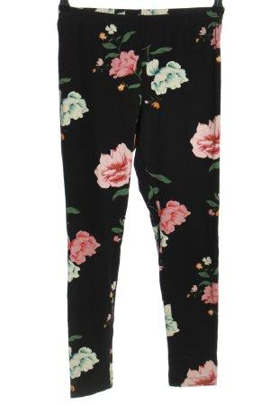Old Navy Leggings schwarz-pink Allover-Druck Casual-Look