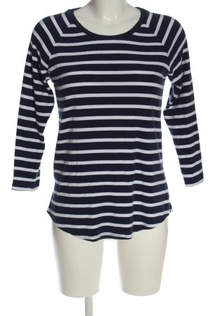Old Navy Stripe Shirt blue-white striped pattern casual look