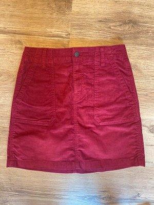 Old Navy Minifalda carmín-rojo oscuro