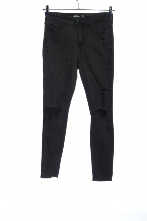 Old Navy Drainpipe Trousers black casual look