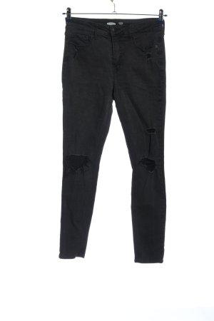 Old Navy Pantalon cigarette noir style décontracté