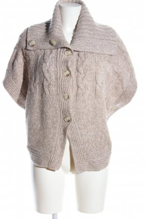 Old Navy Knitted Bolero natural white flecked casual look