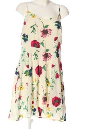 Old Navy Sukienka na ramiączkach kremowy-różowy Wiskoza