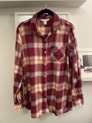 Old Navy Geruite blouse veelkleurig
