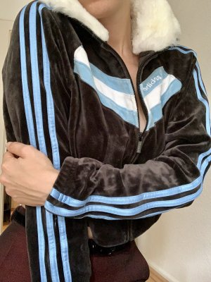 Oldschool Adidas crop-Jacke