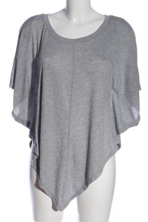 ole by Koton Oversized Shirt hellgrau meliert Casual-Look