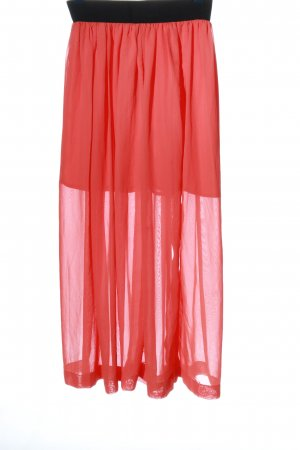 Ole Maxi Skirt red-black party style