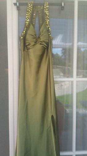 Oliv grünes  Abend kleid
