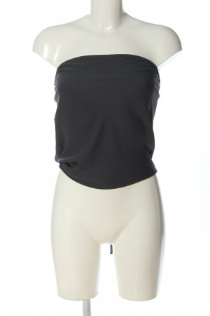 Olivaceous Rugloze top zwart casual uitstraling