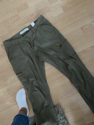 H&M Pantalon cargo kaki