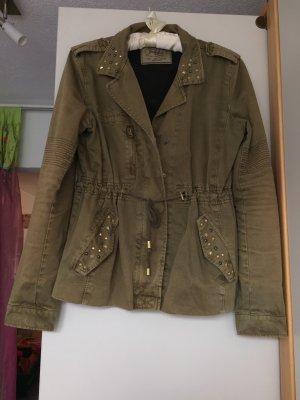 Olive Jacke von Zara