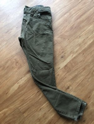 Please Stretch Jeans olive green