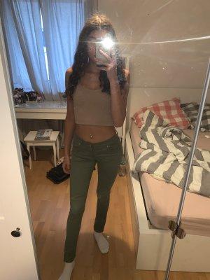 Primark Low Rise jeans olijfgroen