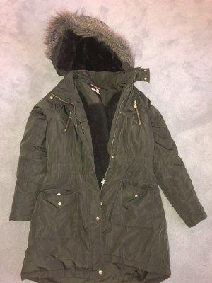 Esprit Outdoor Jacket black brown-olive green