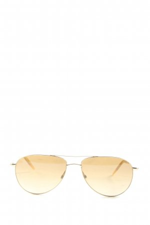Oliver Peoples Gafas de piloto color oro-naranja claro look casual