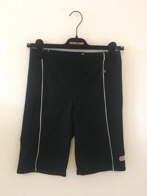 Oliver Sports Radlerhose kurze Hose Bermuda l large 40 schwarz weiß Abnäher Sommer Fitness influencer