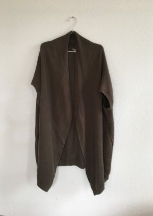 COS Cardigan all'uncinetto grigio-verde