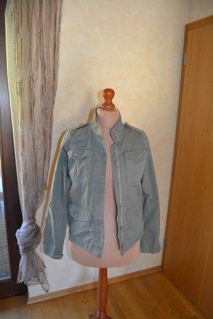 Olivgrüne Jacke der Streetwear-Marke ADDICT Größe M