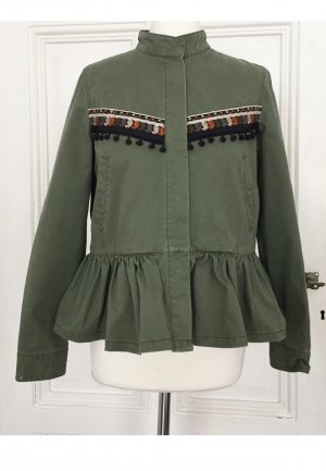 Reserved Military Jacket multicolored cotton
