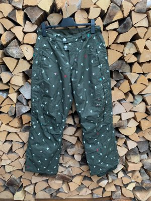 ONEILL Snow Pants olive green-green grey polyester