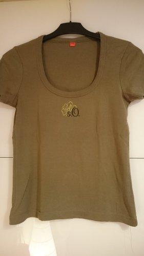 Olivgrüne T-Shirt