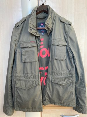 Superdry Military Jacket dark green