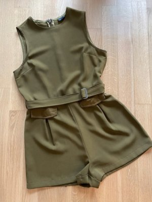 Topshop Jumpsuit olive green-khaki