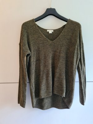 H&M Conscious Collection Jersey de punto grueso caqui