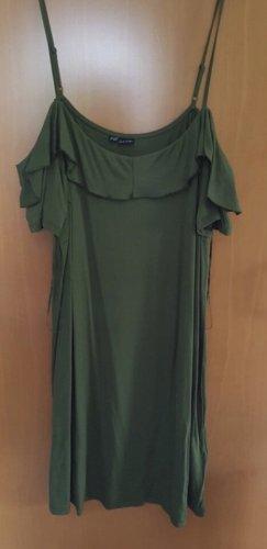 Tunic Dress olive green