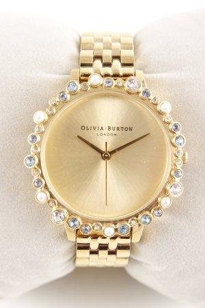Olivia Burton Analoguhr goldfarben klassischer Stil
